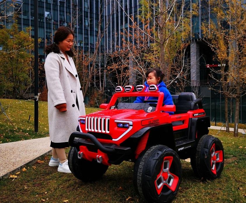 Xe oto điện 2 chỗ Jeep-1200